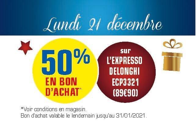 Machine à Expresso Delonghi ECP3321 (via 49.95€ en bon d'achat) - Blaye (33)