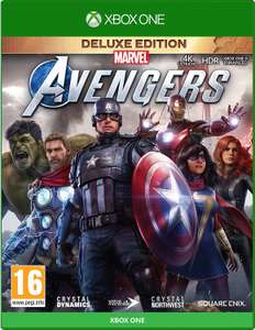 Marvel's Avengers Deluxe Edition + Steelbook Xbox/PlayStation