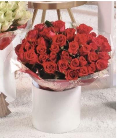 Bouquet de 40 roses - 40cm (Cergy Exploitation 95)