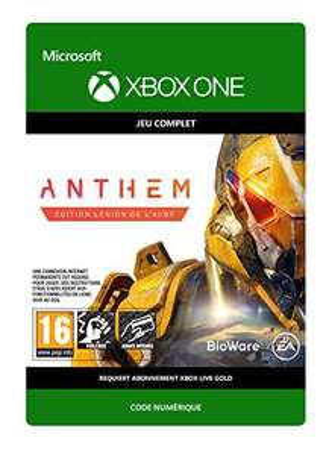 Sélection de jeux Xbox en promotion. Exemple: Anthem: Legion of Dawn sur Xbox One (Dématérialisé)