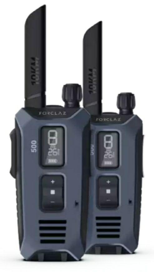 Paire de talkie-walkies rechargeable par USB - WT TREK 500 - 10KM (Retrait magasin)