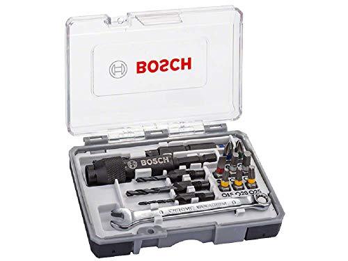 Coffret avec système de pré-perçage / fraisage et porte embout Bosch Drill and Drive 2607002786