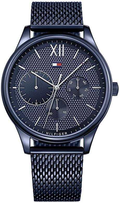 Montre Quartz Tommy Hilfiger multicadran bracelet acier inoxydable