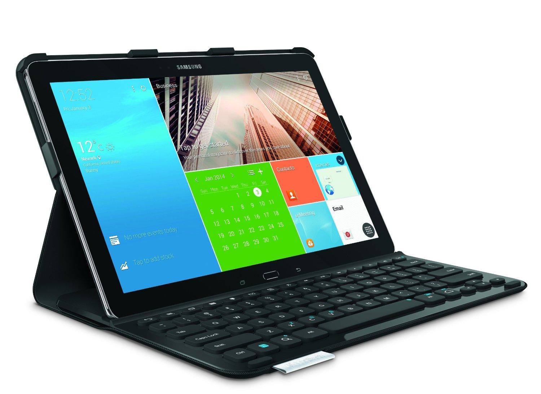 Etui clavier Bluetooth Logitech pour Samsung Galaxy Tab Pro/Samsung Galaxy Note Pro