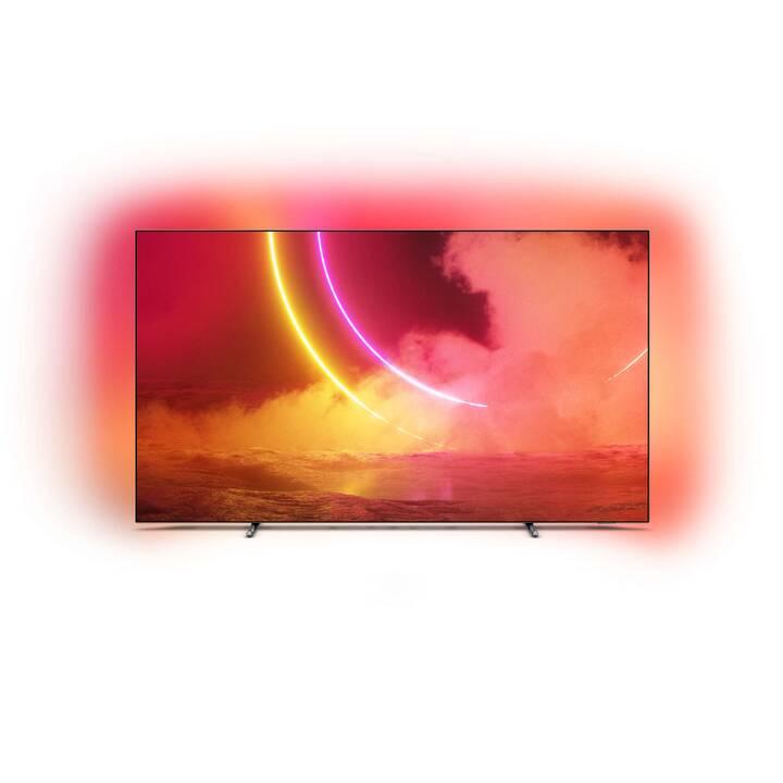 """TV 55"""" OLED Philips 55OLED805/12 - OLED, UHD 4K, Ambilight 3 côtés (Frontaliers Suisse)"""