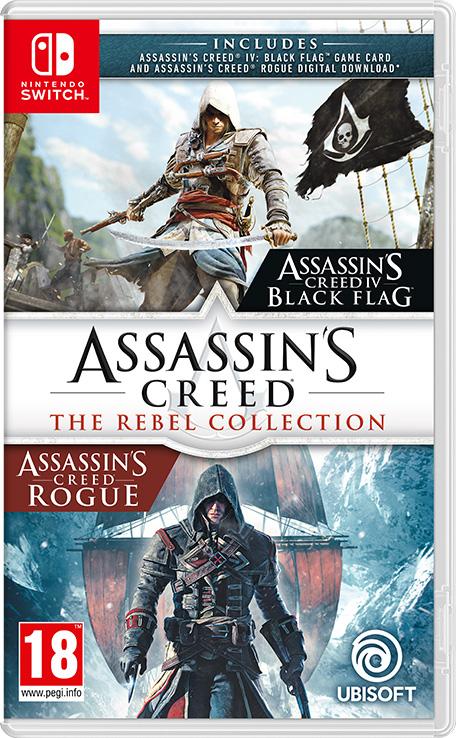 Assassin's Creed: The Rebel Collection sur Nintendo Switch (Dématérialisé)