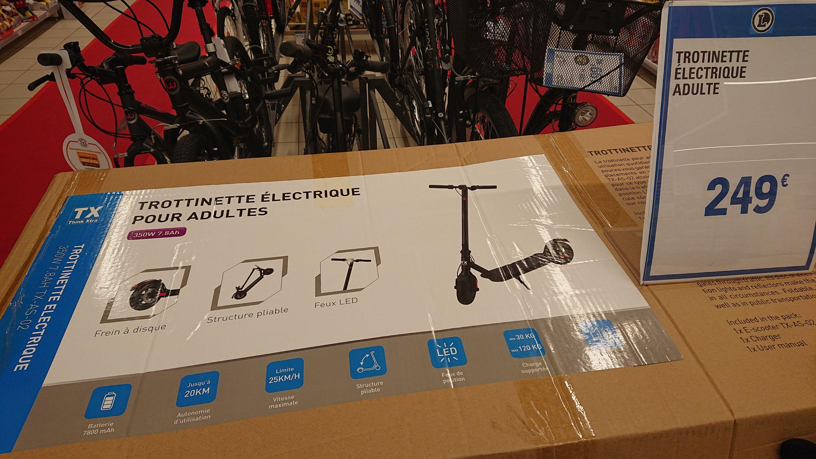 Trottinette électrique Think Xtra, 350w 7800mAh - Roubaix (59)
