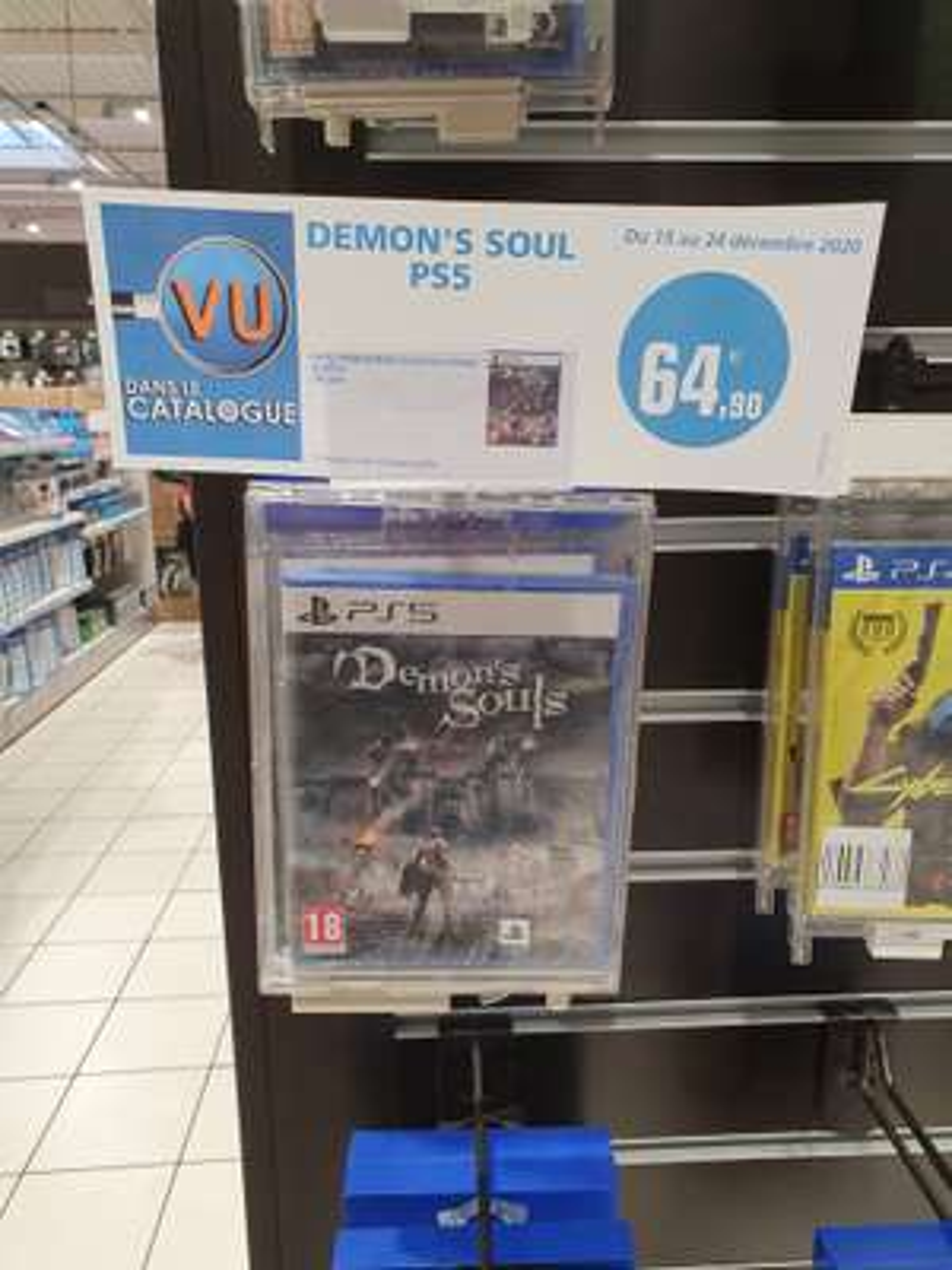 Jeu Demon's Souls sur PS5 - Creutzwald (57)