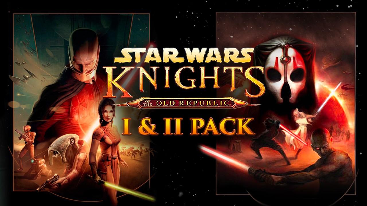 Bundle Star Wars: Knights of the Old Republic I & II sur PC (dématérialisé, Steam)