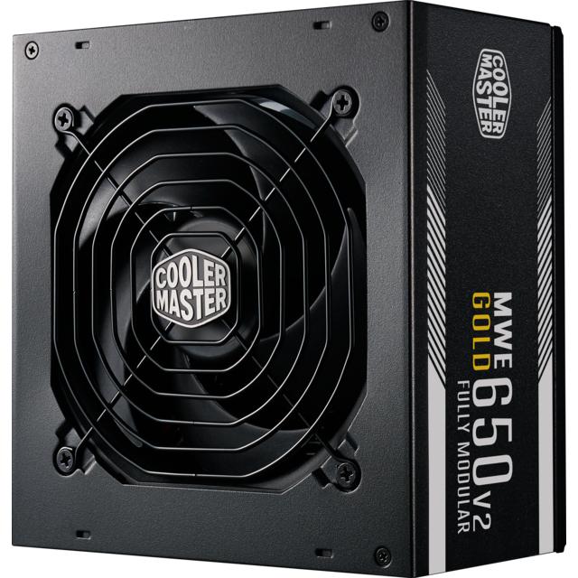 Alimentation PC modulaire Cooler Master MWE Gold 650 V2 - 650W