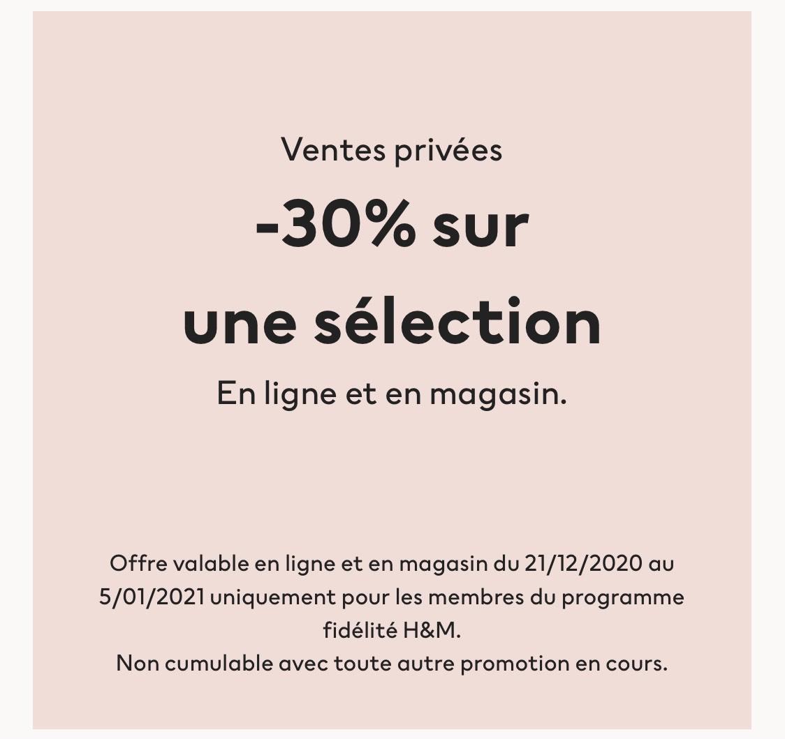 [Membres] 30% de réductuion sur une sélection d'articles (Sur le site et en magasin)