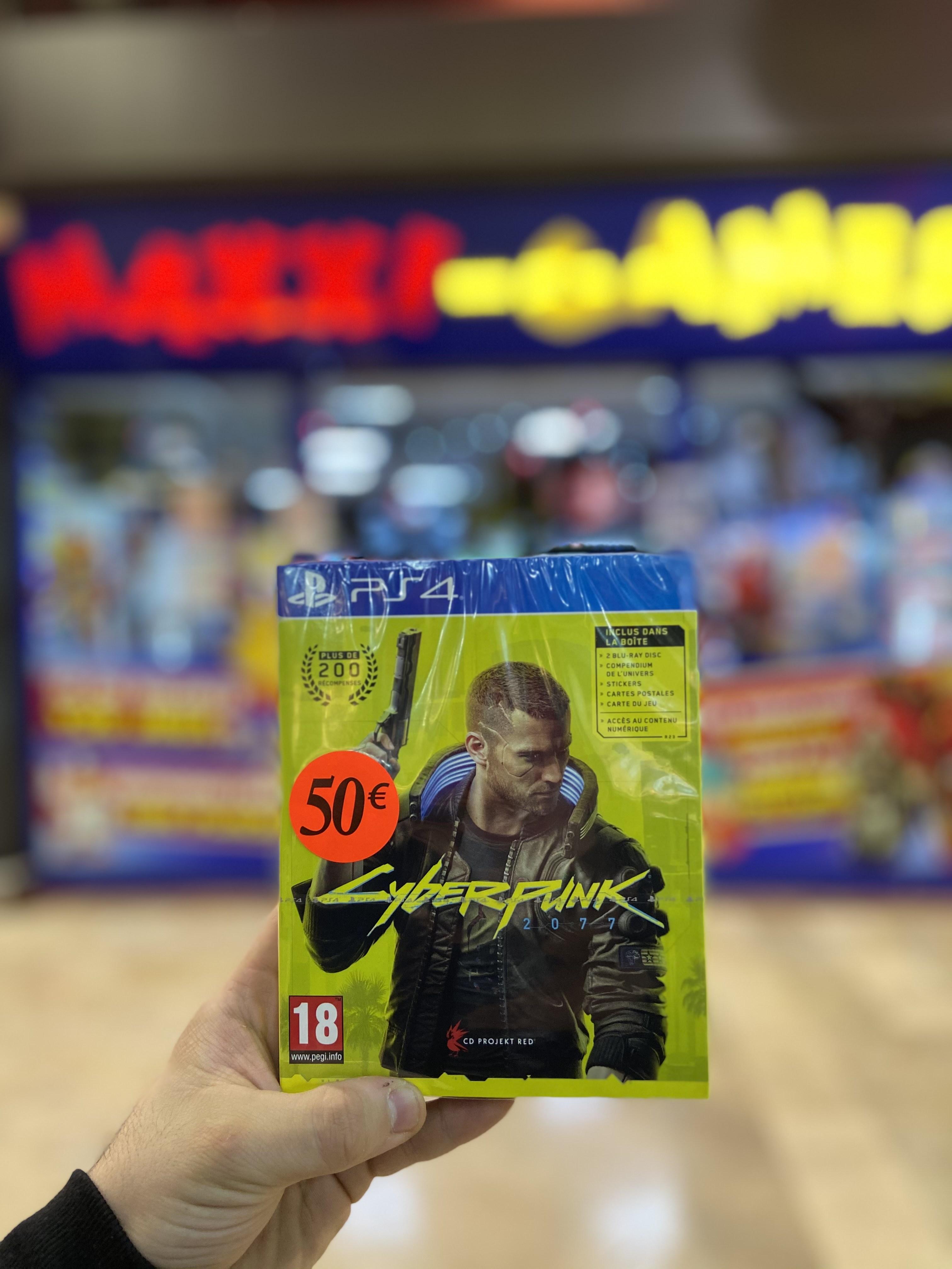 Cyberpunk sur PS4 - Maxxi Games Bagnolet (93)