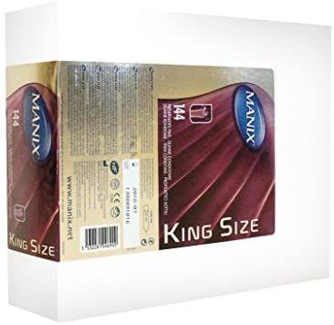 Boîte de 144 préservatifs Manix King Size