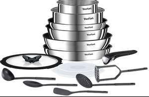 Batterie de cuisine Tefal Ingenio Emotion L925SF14 - 15 pièces (tous feux dont induction)