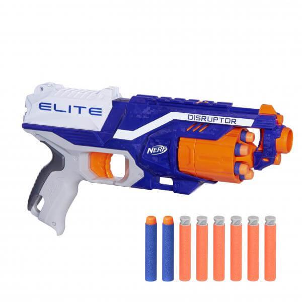 2 Pistolets Nerf Elite Disruptor + 2x 12 Fléchettes