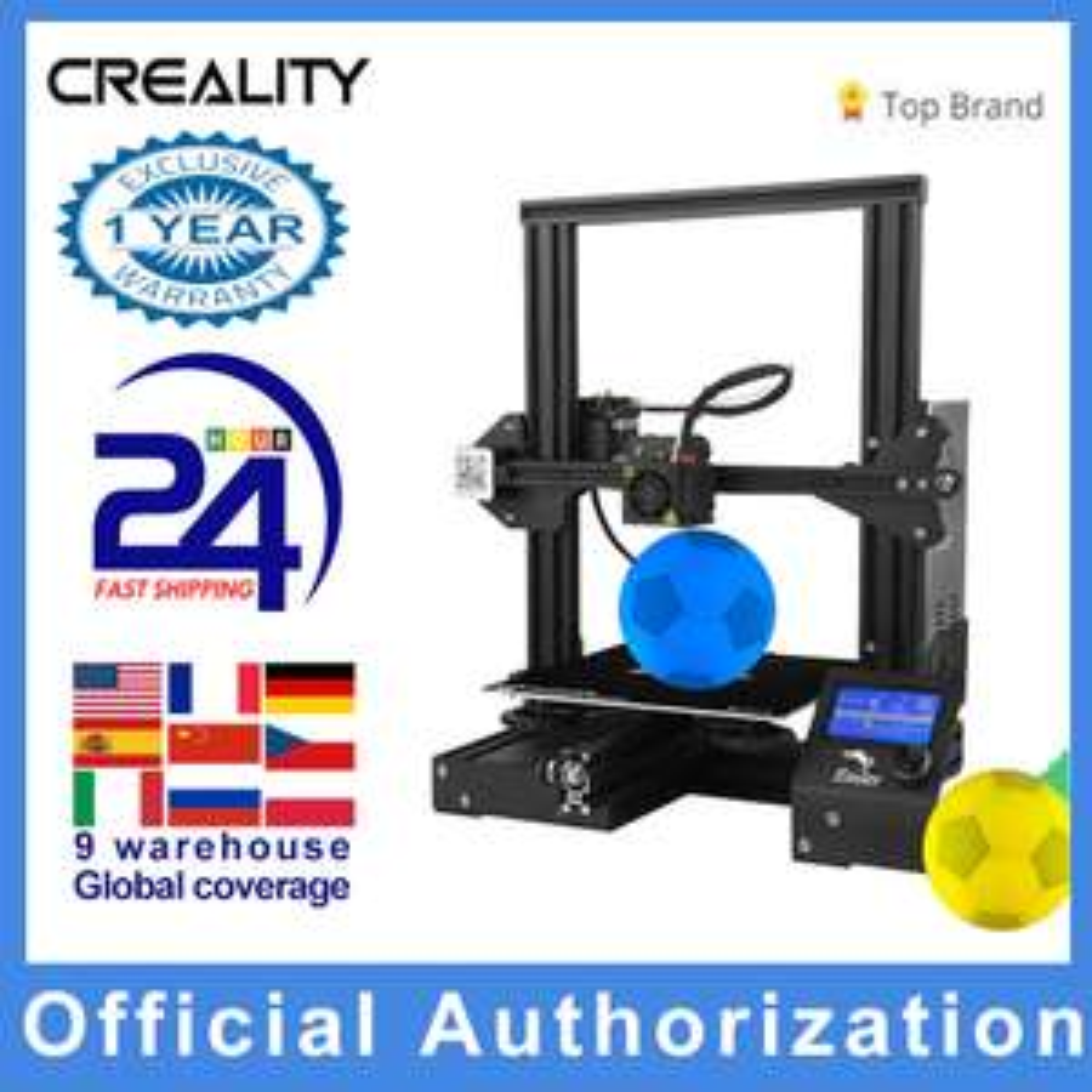 Imprimante 3D Ender 3 Pro + 20m de filament (Entrepôt EU)