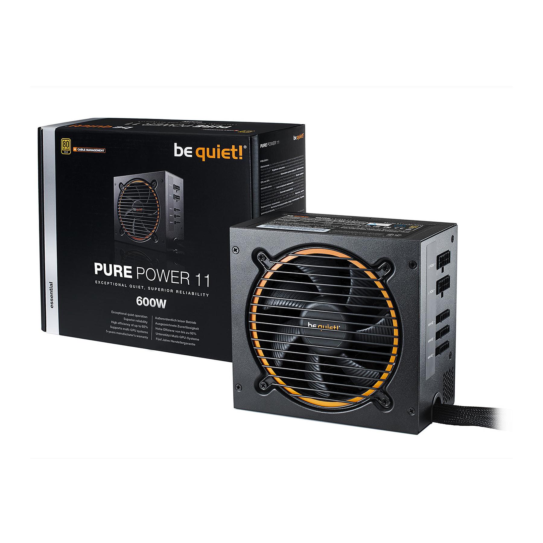 Alimentation PC Be Quiet Pure Power 11 CM 600W