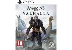 Assassin's Creed: Valhalla sur PS 5/ PS4 / XBOX ONE (Frontaliers Belgique)