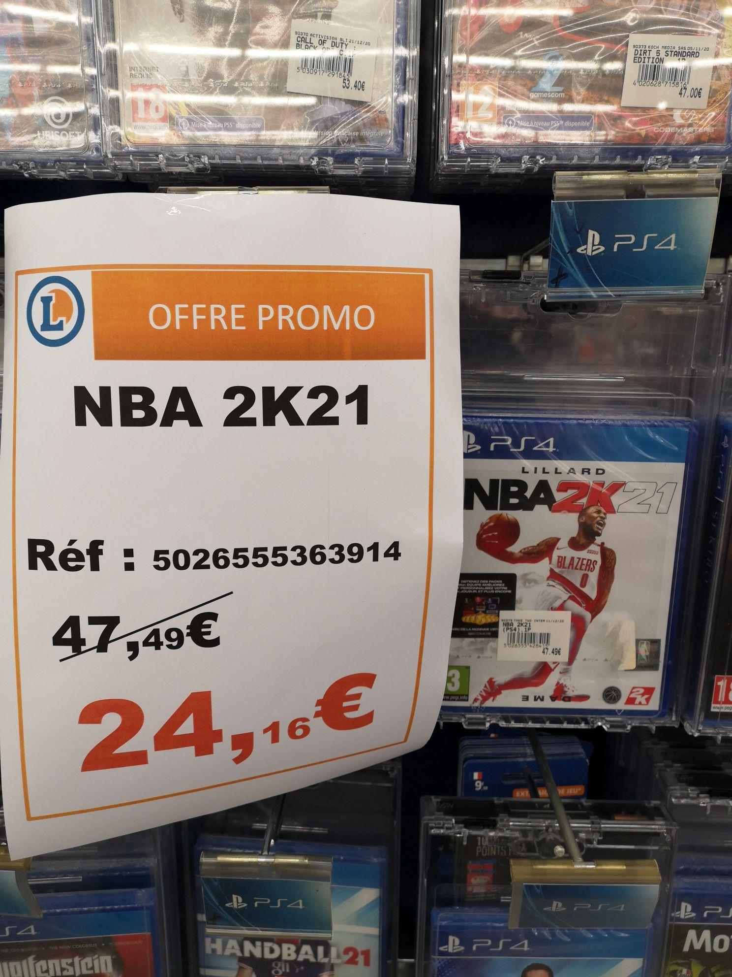 NBA 2K21 sur PS4 - Le Mans (72)