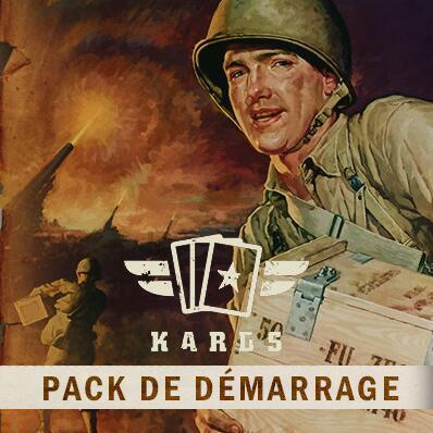 DLC Pack de Démarrage pour Kards The WWII Card Game Gratuit sur PC (Dématérialisé)