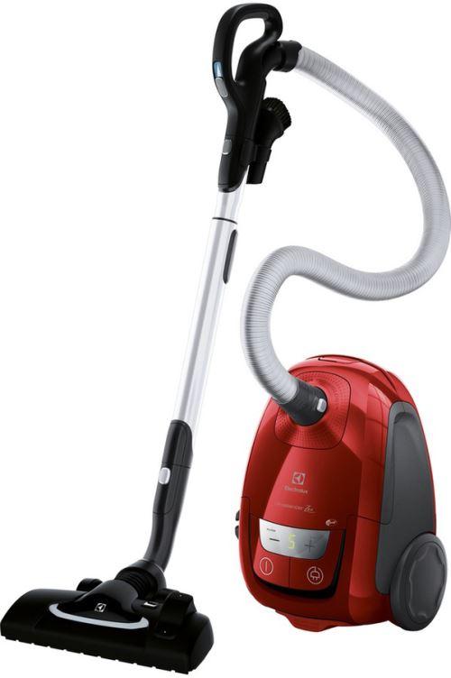 Aspirateur avec sac Electrolux Ultrasilencer Zen EUS8ANIMAL - 650 W, Rouge piment