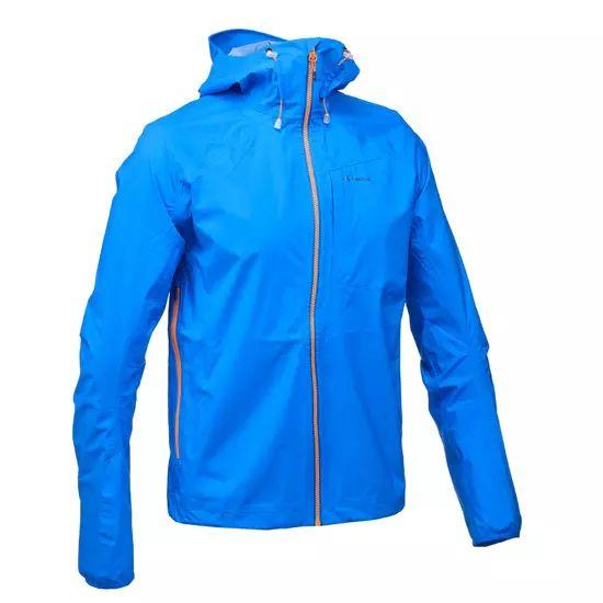 Veste imperméable Quechua FH500 Helium Rain - Bleu