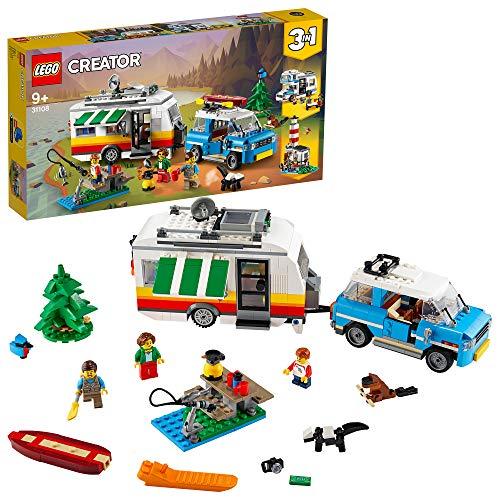 Jeu Lego Creator (31108) - Les Vacances en Caravane en Famille