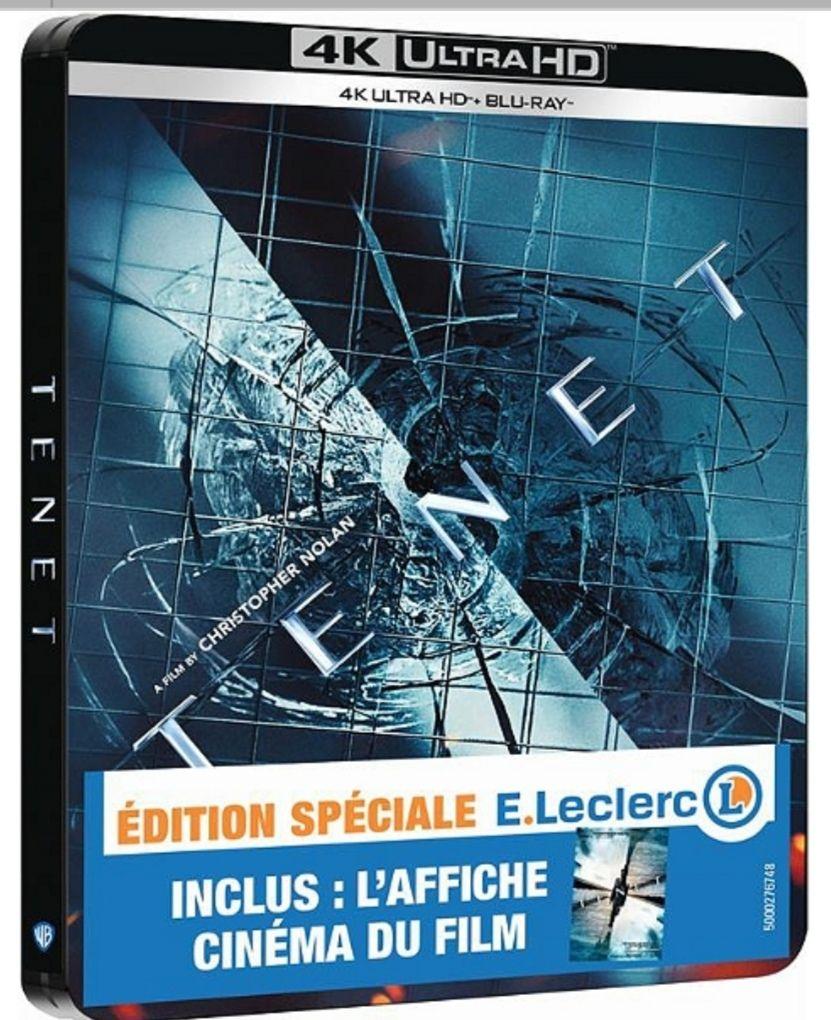 [Précommande] Coffret Blu-Ray 4K Edition Steelbook - Tenet