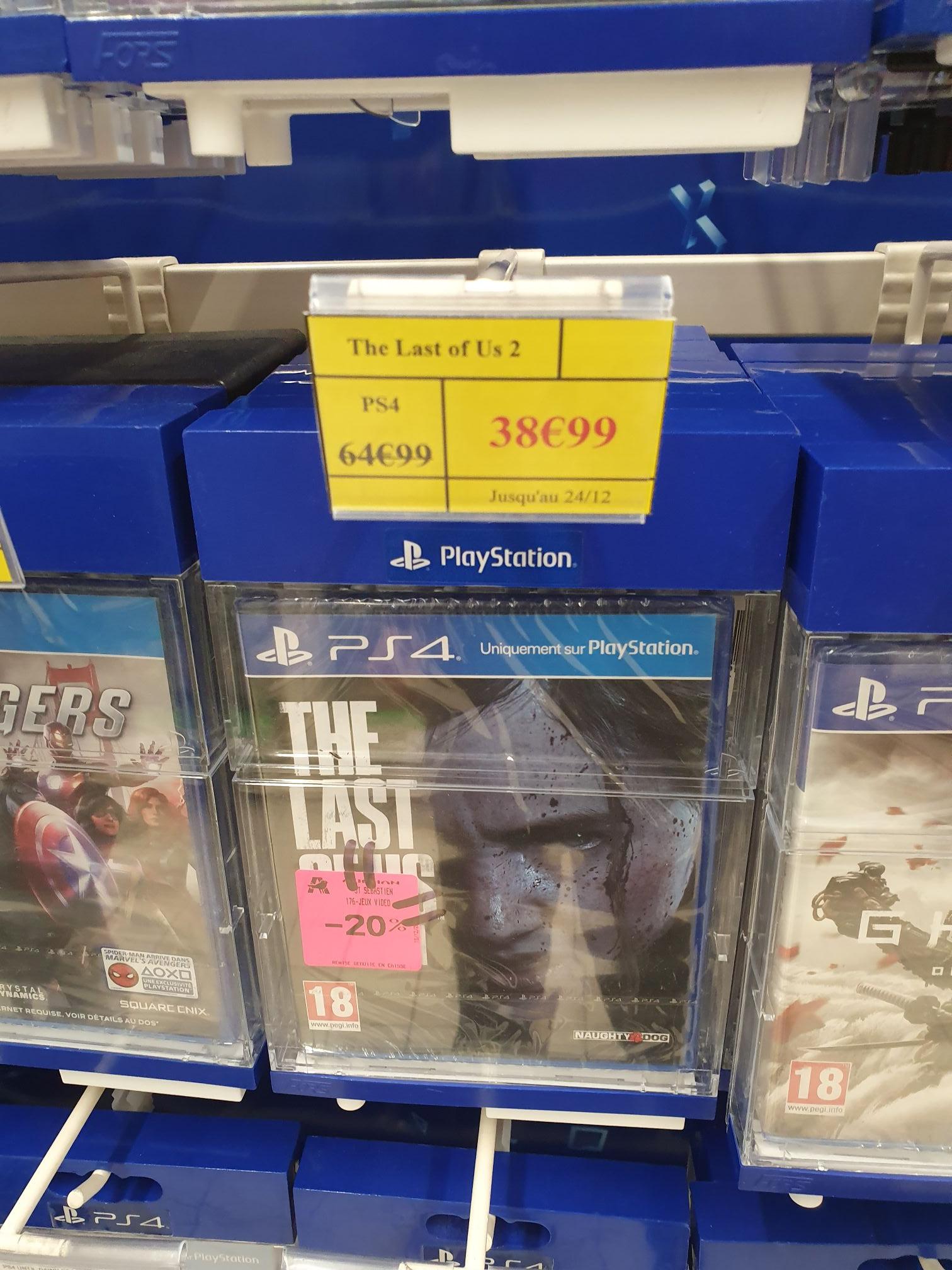 The Last Of Us 2 sur PS4 - St Sébastien ( 44 )