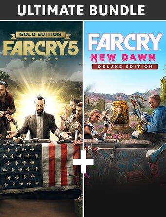 Ultimate Bundle Far Cry : Far Cry 5 Gold Edition et Far Cry : New Dawn Deluxe Edition (Dématérialisé - Ubisoft Connect)