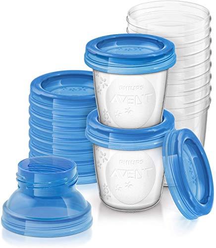 10 Pots de conservation Philips Avent SCF618/10 - 180 ml