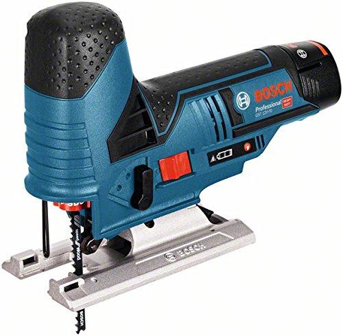 Sauteuse sans fil Bosch Professional Scie GST 06015A1003 - 10,8 V-LI + 2 batteries 2,5 Ah + chargeur + coffret L-BOXX