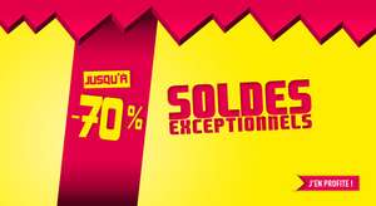 Soldes jusqu'à -70% (Voir description)