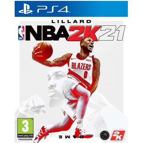 Jeu NBA 2k21 sur PS4, Xbox One, Nintendo Switch (Via Retrait Magasin)