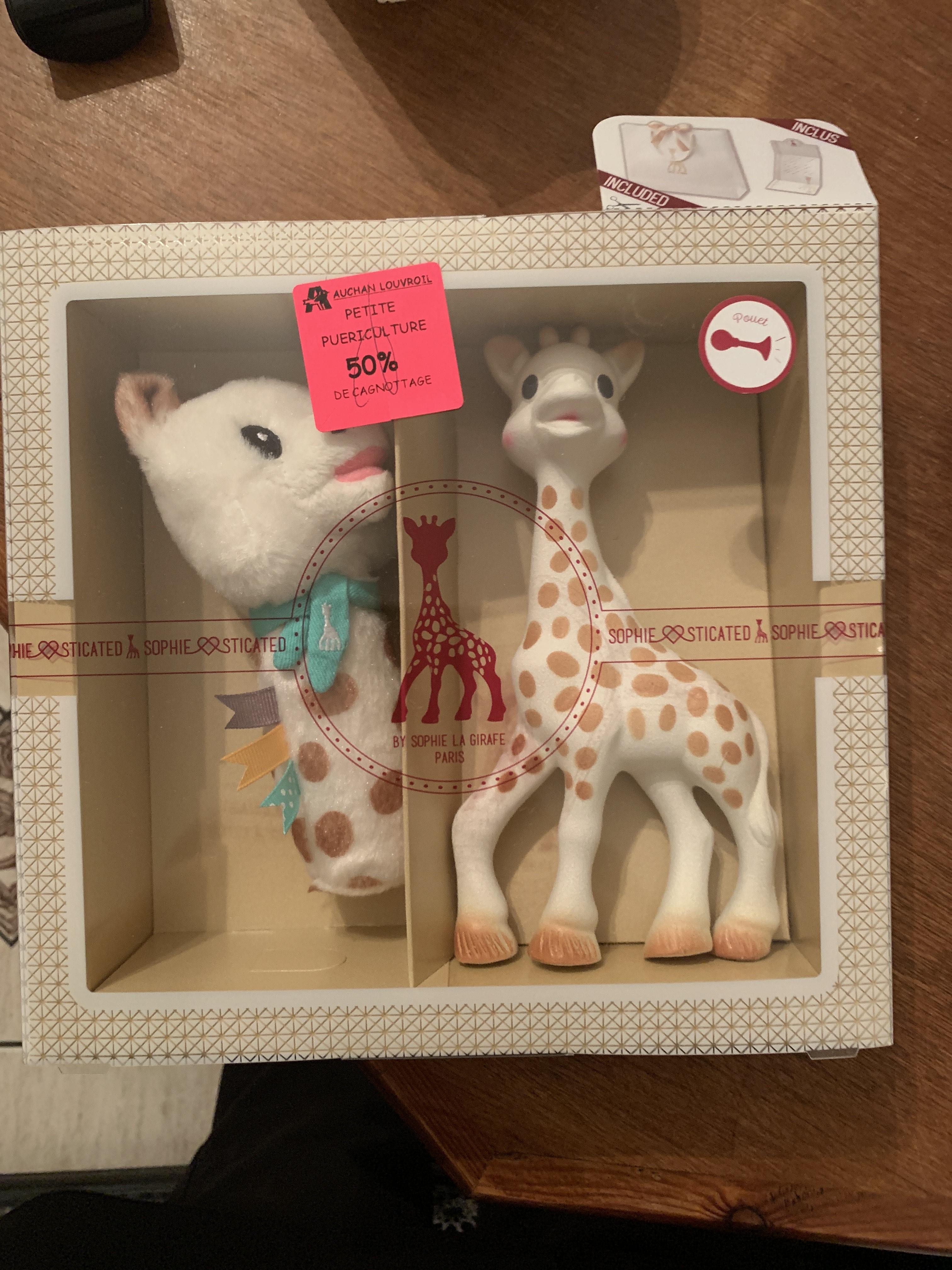 Coffret Naissance Sophie La Girafe (Via 10,50€ sur Carte Fidélité) - Louvroil (59)