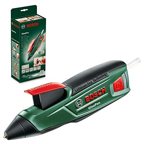 Pistolet à colle Bosch GluePen (Livré avec chargeur micro-USB + 4 bâtonnets de colle)