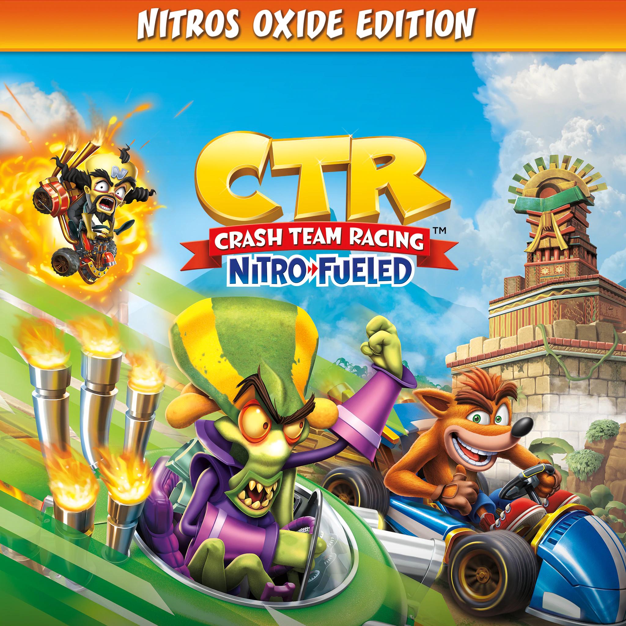 Crash Team Racing Nitro-Fueled - Édition Nitros Oxide sur PS4 (dématérialisé)