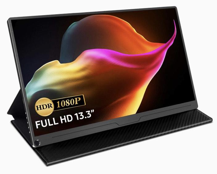 "Écran portable 13.3"" Uperfect - Full HD, Dalle IPS, USB-C, HDMI (Vendeur Tiers)"