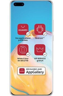 """Smartphone 6.1"""" Huawei P40 Pro - 5G, 8 Go RAM, 256 Go ROM, Noir, sans services Google (vendeur tiers)"""
