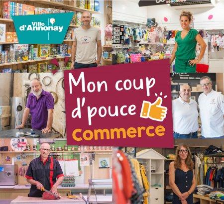 Bon d'achat de 20€ valable dans une sélection de commerce - Annonay (07)