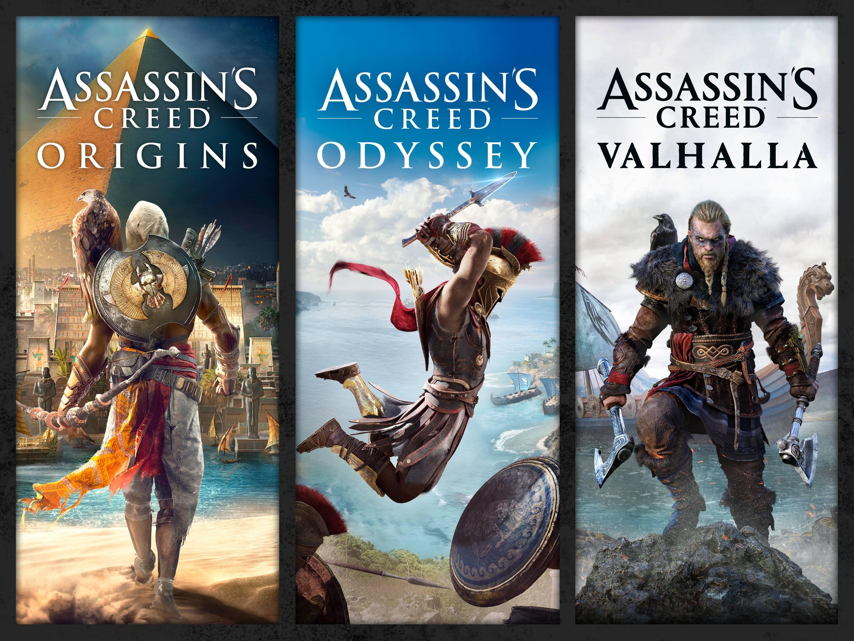Sélection de jeux PS4 dématérialisés en promotion (Store BR) - Ex : Pack Assassin's Creed Origins, Odyssey & Valhallah
