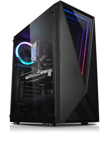 PC Fixe Kiebel Ninja - AMD Ryzen 5 3500X, 8 Go RAM, GTX 1650, 512 Go SSD, Alim. 400 W, sans OS