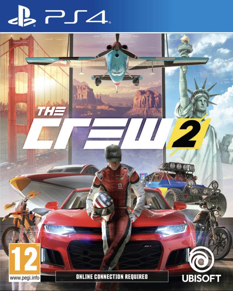 The Crew 2 Edition Standard sur PS4 (Dématérialisé)