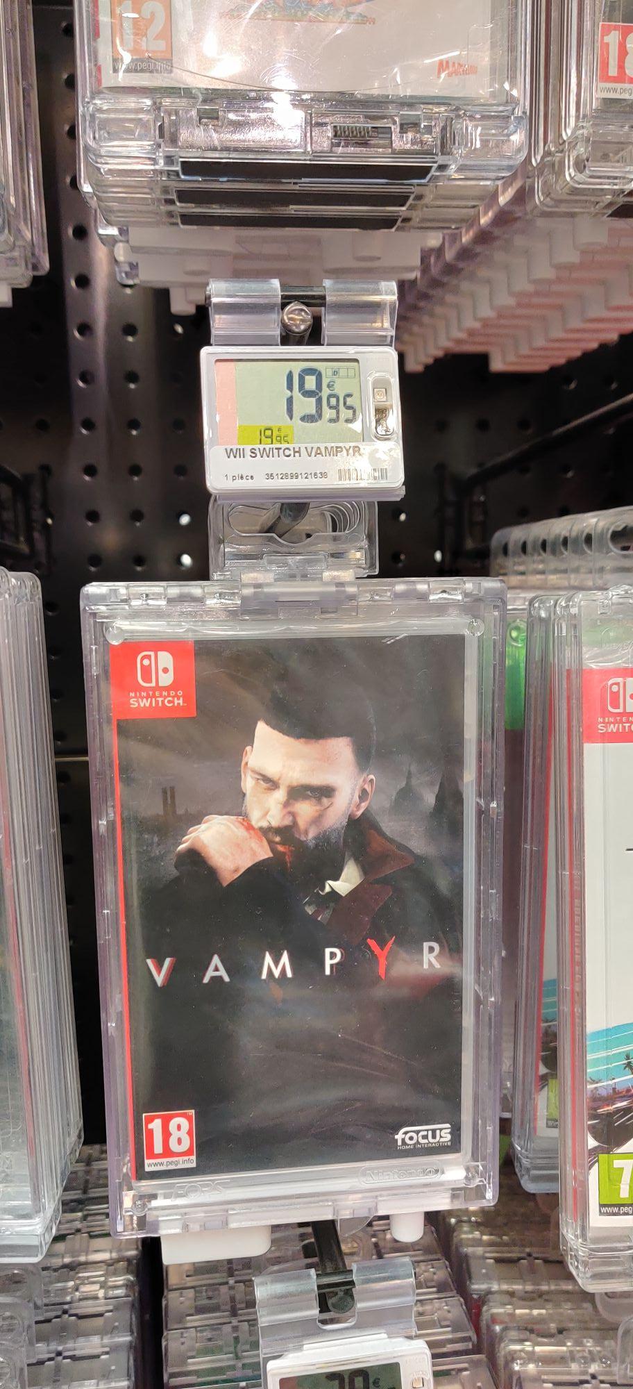 Vampyr sur Switch - Les Ulis (91)