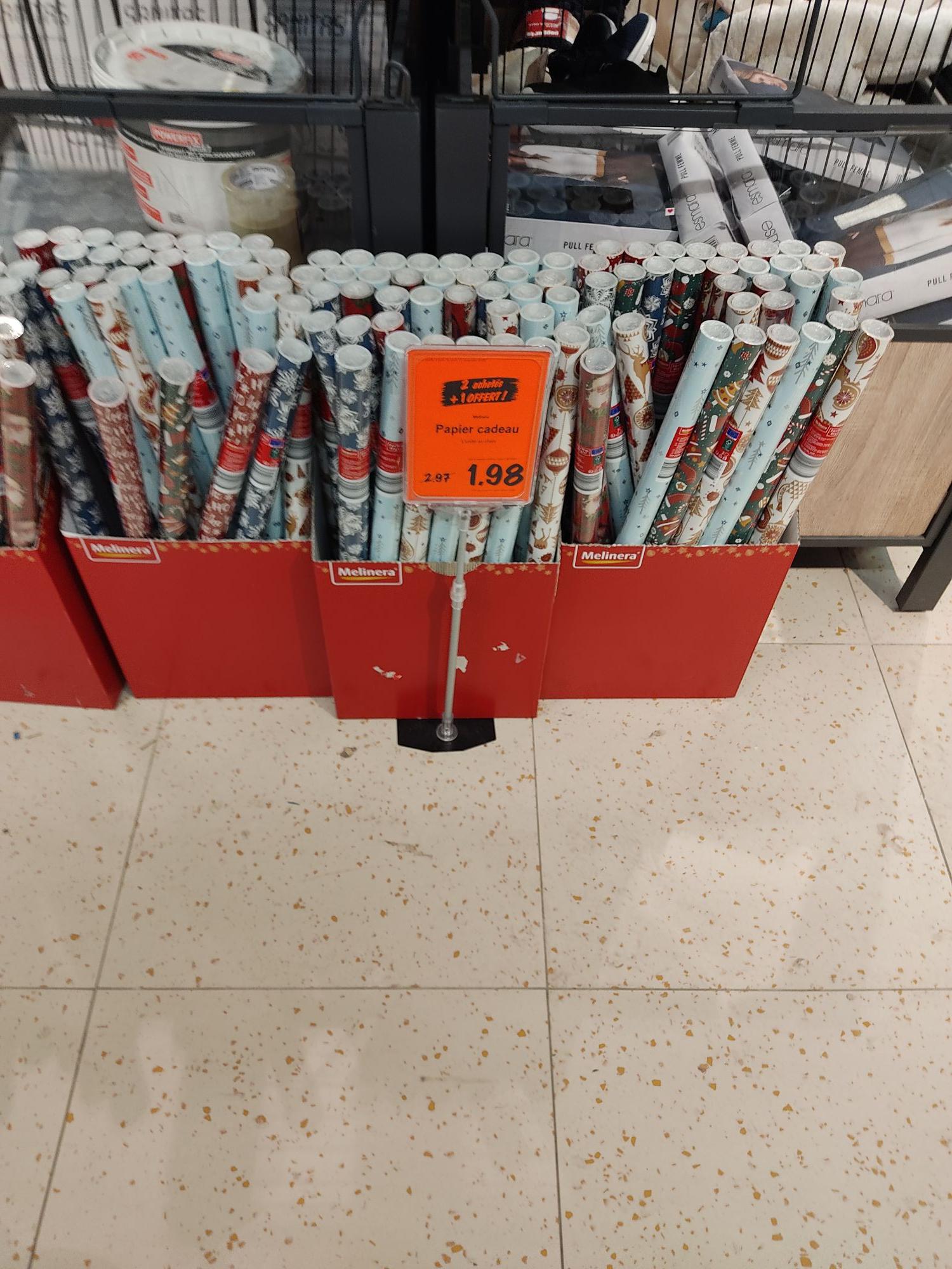 3 rouleaux de papier cadeau, 5 m x 70 cm
