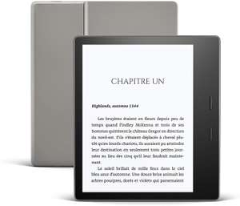 Liseuse Kindle Oasis - 8Go, Wi-fi