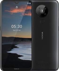 """Smartphone 6.55"""" Nokia 5.3 (3 Go RAM, 64 Go) + Forfait Free Mobile pendant 24 mois (Appels, SMS, MMS Illimités + 100 Go de DATA)"""