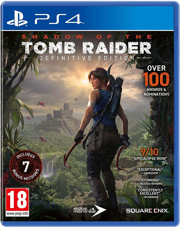 Jeu Shadow of the Tomb Raider - Definitive Edition sur PS4 (Dématérialisé)