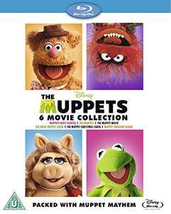 Coffret Blu-Ray The Muppets - 6 films