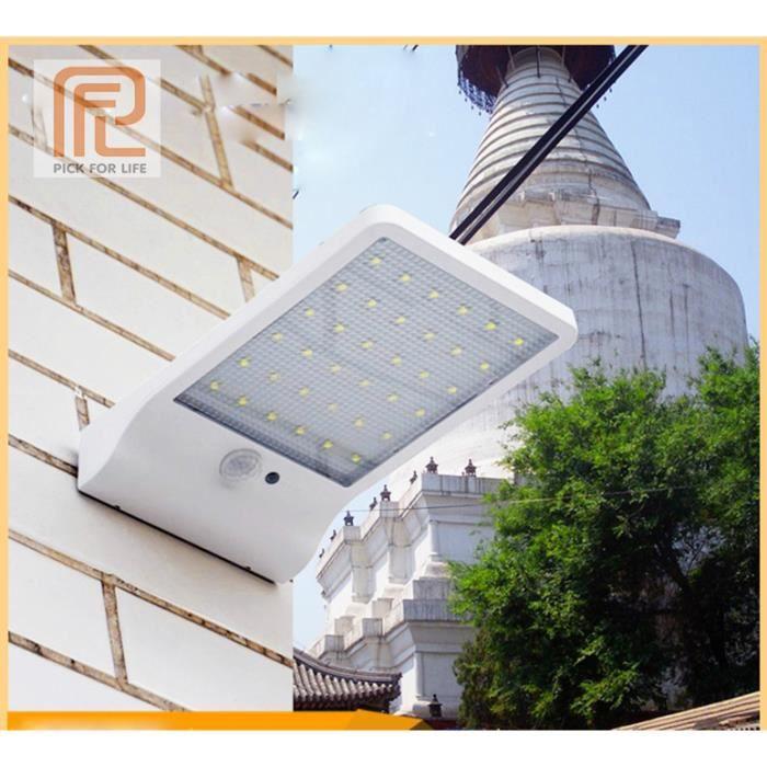 Lampe solaire - 36 LEDs, étanche avec détecteur de mouvement (Vendeur Tiers)
